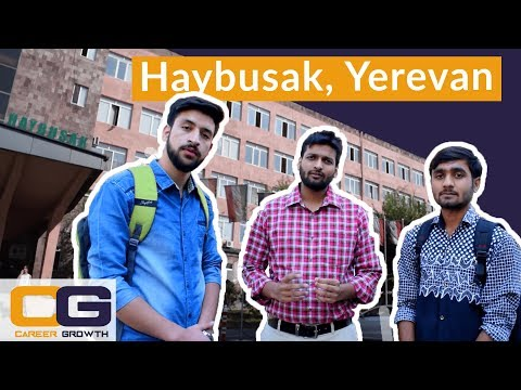 Yerevan Haybusak University, Armenia | Student Review | Hostel & Campus Tour