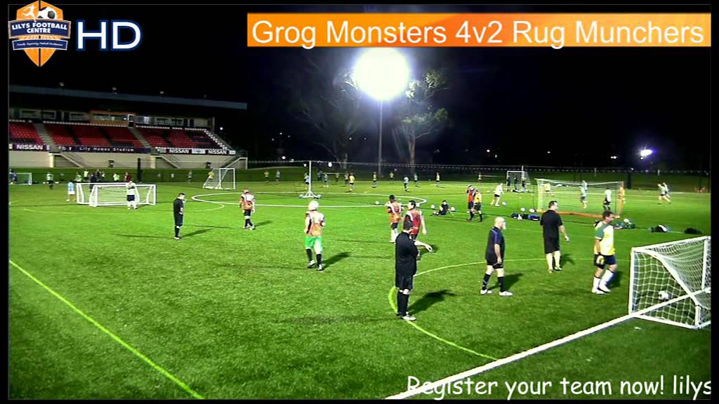 LFC Over 35s Grog Monsters V Rug Munchers