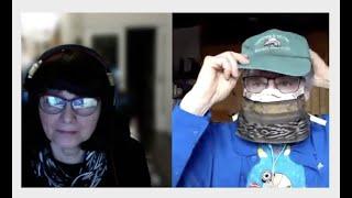Kronvirusa intervjuo kun Derek Roff pri maskoj