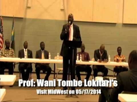 Wani Tombe Lokitari speech in Nebraska