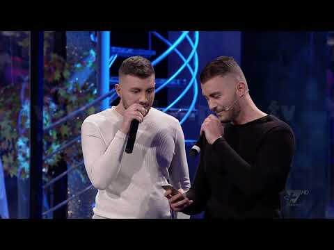 "Al Pazar - Montana dhe Montela me kengen ""Ne te SMS"" - Show Humor - Vizion Plus"