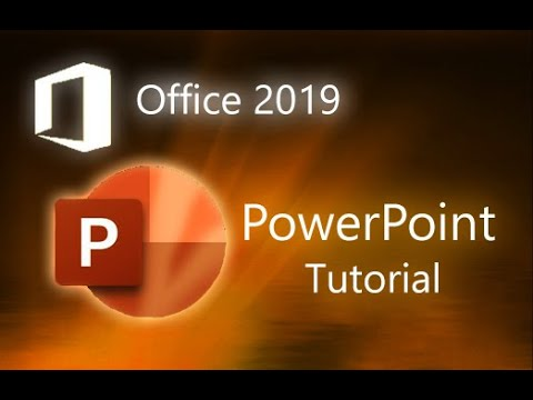 Microsoft PowerPoint 2019 - Full Tutorial For Beginners [+General Overview]