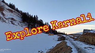 Explore karnali snow falls //Lok bhandari