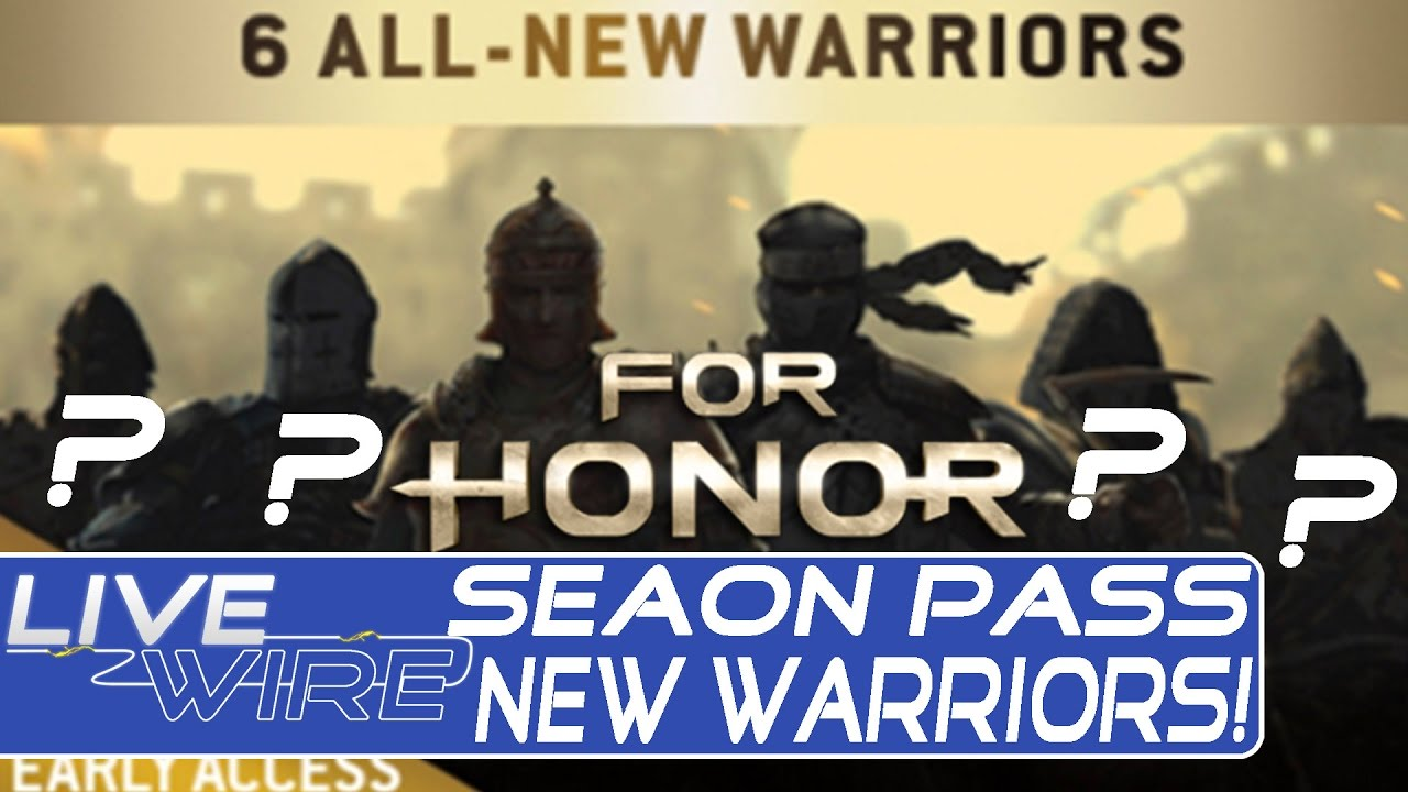For honor season pass brings 6 all new characters to for honor for honor season pass details - When is for honor season 6 ...