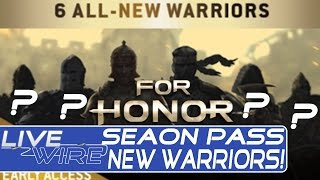 For Honor Season Pass Brings 6 ALL NEW CHARACTERS To For Honor For Honor Season Pass Details