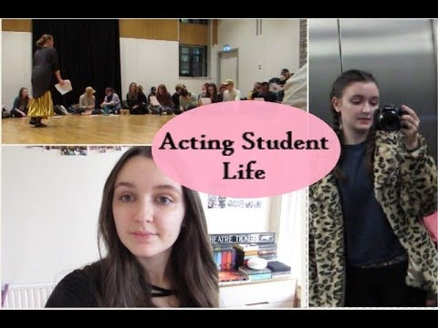 Day In The Life of an Acting Student - Vlog 1