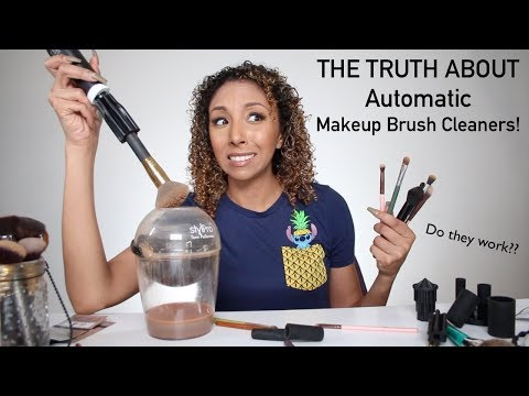 StylPro Expert Makeup Brush Cleaner, Does it work?? | BiancaReneeToday