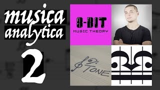 MUSICA ANALYTICA 2 | Livestream with 12tone, Sideways and 8-bit Music Theory