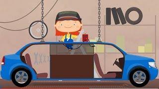 Мультфильм про машину ЛИМУЗИН. Доктор Машинкова Капуки Кануки. Мультики для детей