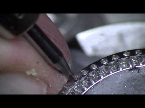 JURA Stone Setting. Watch bezel (Stainless Steel) Part1. Preparing for setting
