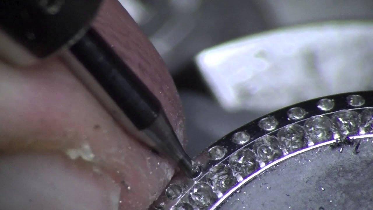 Jura Stone Setting Watch Bezel Stainless Steel Part1