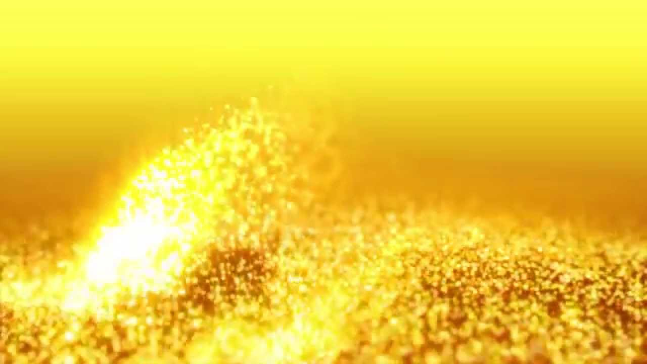Animated Backgrounds Wallpapers Gold Dust Wind Particles HD - Footage PixelBoom - YouTube