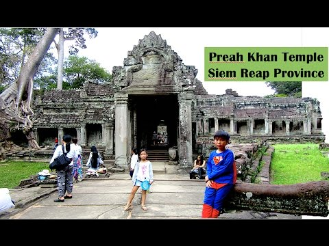 Visit Preah Khan Temple in Siem Reap Province Cambodia | Tourist Attraction in Southeast Asia