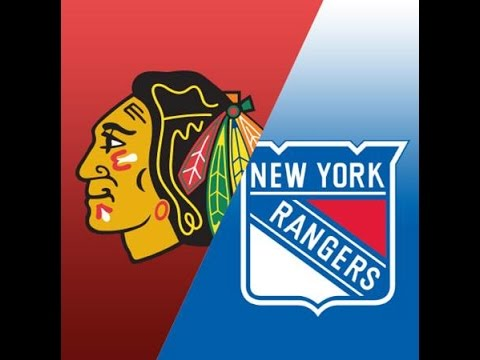 Image result for rangers blackhawks