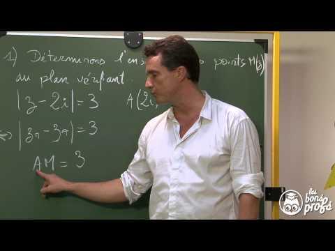 Complexes et géométrie 1 : Exercice 1 - Maths terminale - Les Bons Profs
