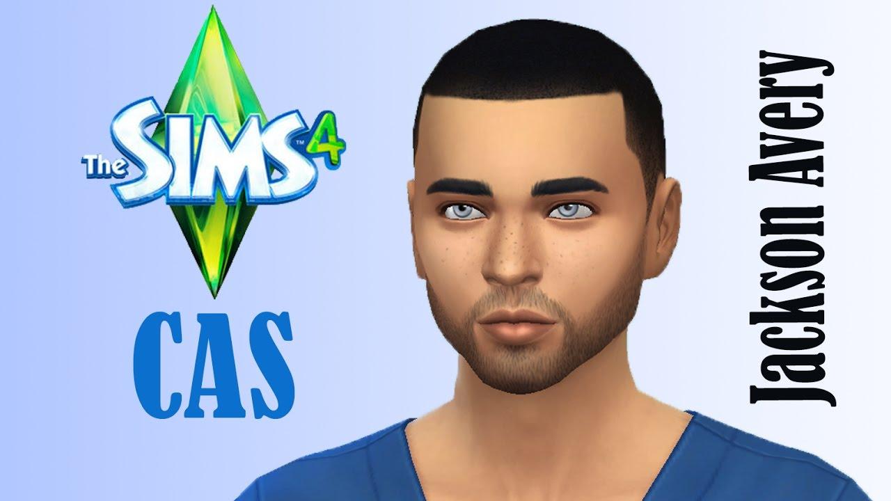 The Sims 4 CAS: Jackson Avery (Grey\'s Anatomy) - YouTube