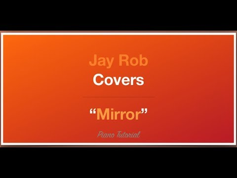 Mirror Madison Ryann Ward Piano Tutorial Youtube