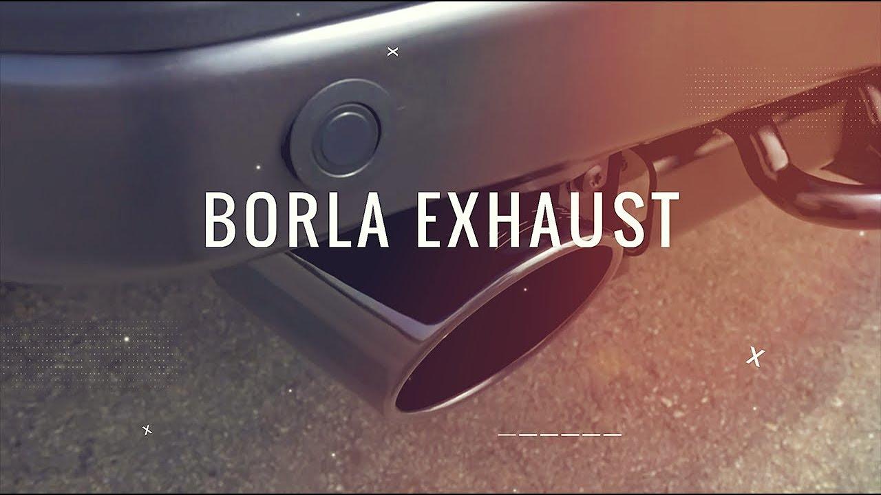 borla exhaust systems