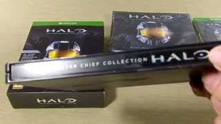 Halo The Master Chief Collection Limited Edition Steelbook Unboxing