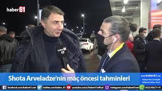 Trabzonspor'un efsane ismi Şota:O Fenerbahçe maçını unutamayız