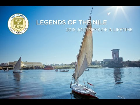AHI Travel Egypt - Legends of the Nile featuring a Nile River Cruise, Giza, Cairo, Luxor and more!