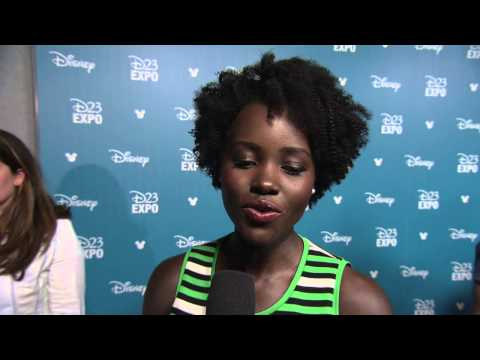Star Wars: The Force Awakens, The Jungle Book: Lupita Nyong'o D23 Interview