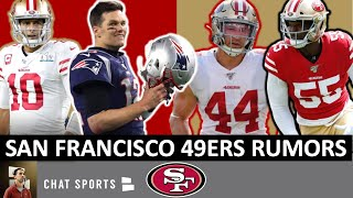 49ers Rumors On Tom Brady & Dee Ford Trade + 49ers News On Kyle Juszczyk Contract Extension