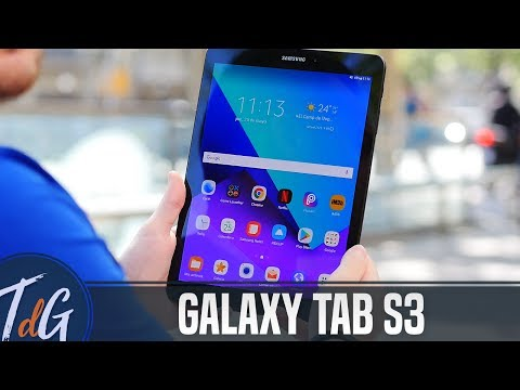 Samsung Galaxy Tab S3, review en español