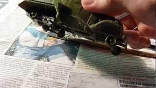 Складання моделі бронеавтомобіля БА-10