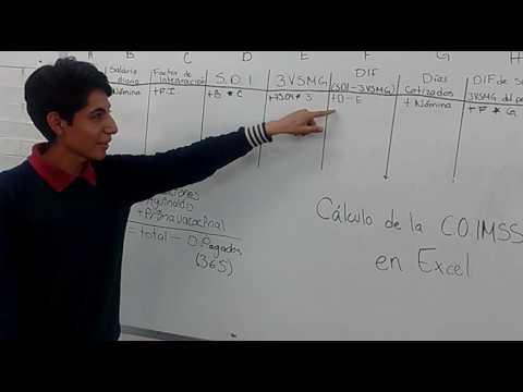 Calculo de la Cuota Obrero IMSS