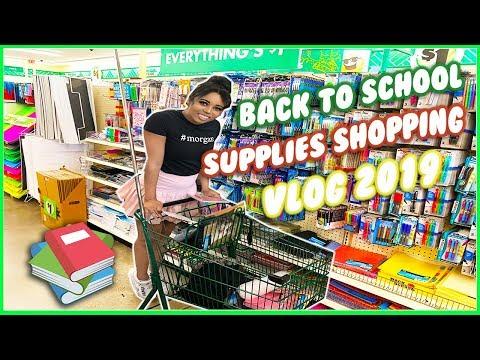 Dollar Tree Back to School Supplies Shopping 2019