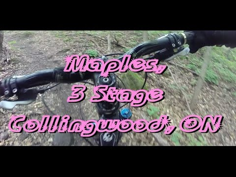 Mountain Biking: Maples, 3 Stage, Collingwood, ON