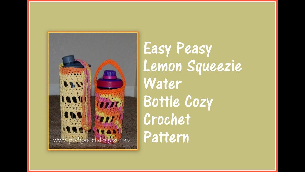 Crochet a water bottle cozy youtube crochet a water bottle cozy bankloansurffo Choice Image