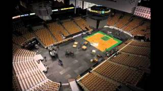 Boston Bruins to Boston Celtics Changeover Time Lapse