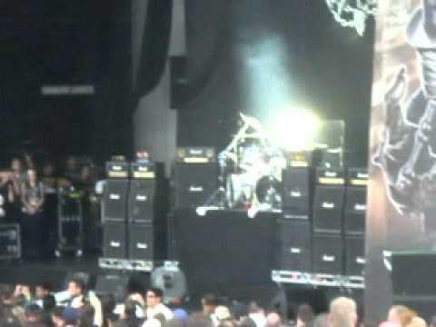 Motorhead Live Rockstar Mayhem Festival Cynthia Woods Mitchell Pavilion Houston, Tx 7-11-2012 #1