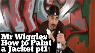 how to graffiti jacket pt 1 TRAINWRITERS.COM