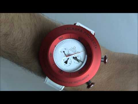 """Omega Speedmaster Professional """"Alaska Project"""" Limited Edition Watch Review 