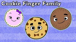 Cookie Finger Family and More | YUMMY SNACK FINGER FAMILY | Nursery Rhymes from Mother Goose Club!