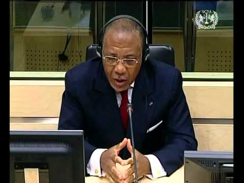 Former Liberian President Charles Taylor's Opening Statement - 15 July 2009 Part 2