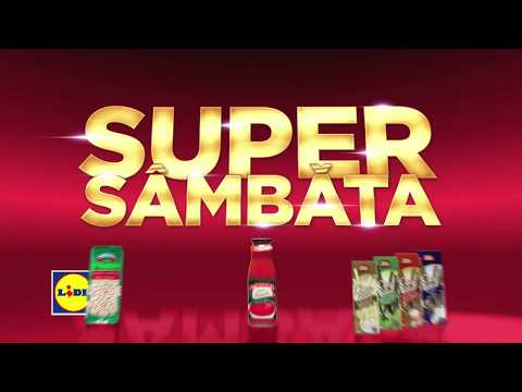 Super Sambata la Lidl • 23 Septembrie 2017