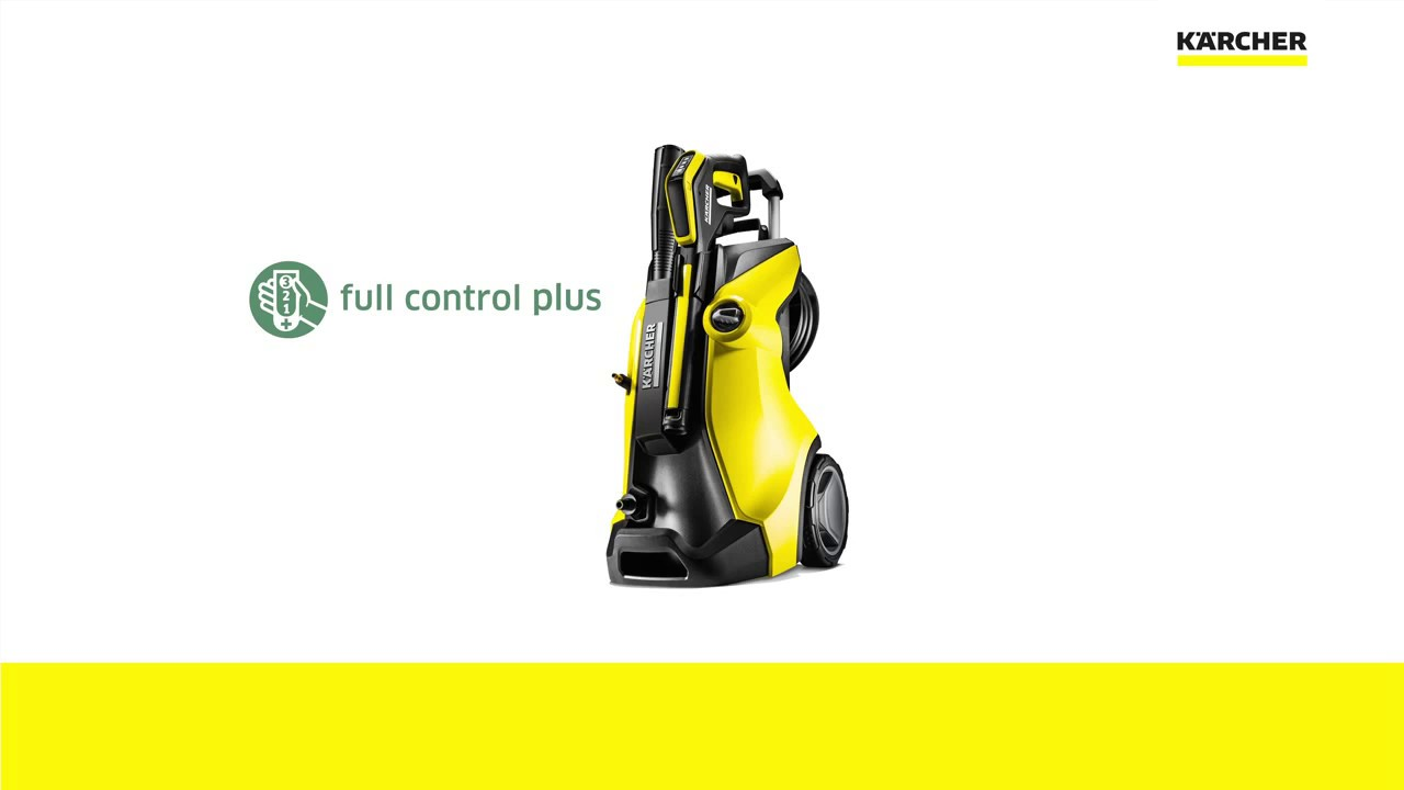 karcher new k7 premium full control home plus cold pressure washer youtube. Black Bedroom Furniture Sets. Home Design Ideas