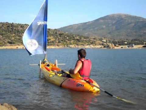 Como hacer tu propia vela para kayak how to made a - Como hacer velas ...