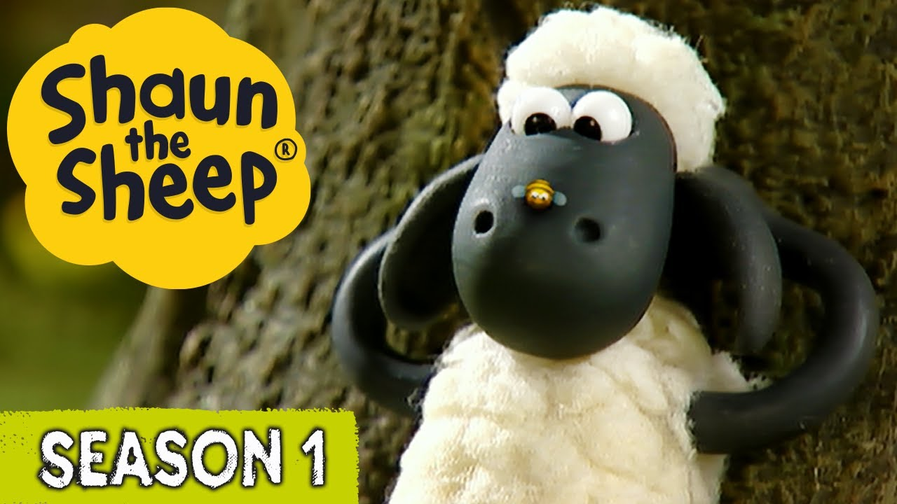 Shape Up with Shaun & Buzz Off Bees | Shaun the Sheep S1 (x2 Full Episodes)
