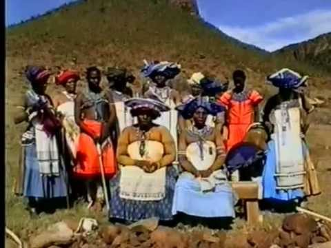 UMNGQOKOLO - Thembu Xhosa - OVERTONE SINGING filmed  1985-1998 in South Africa