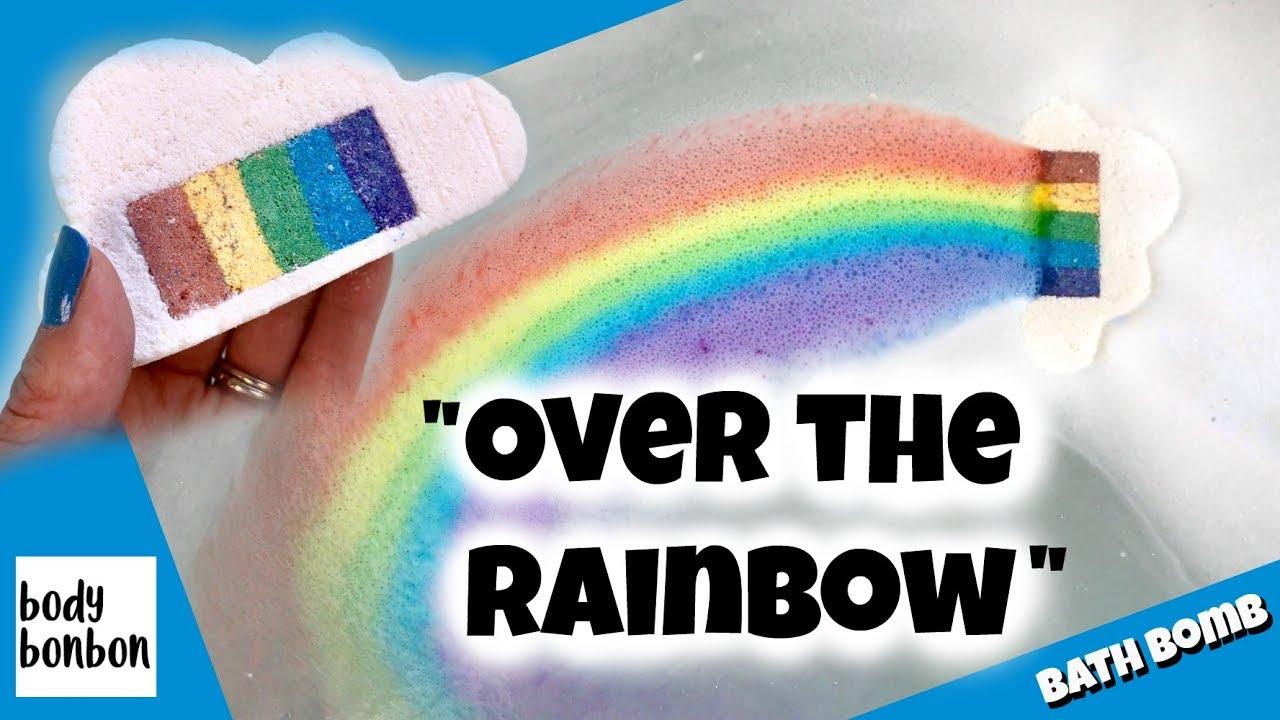 cloud rainbow bath bomb - 1280×720