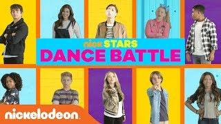 Music Monday DANCE BATTLE w/ JoJo Siwa, Jace Norman, Kira Kosarin & MORE Stars | Nick