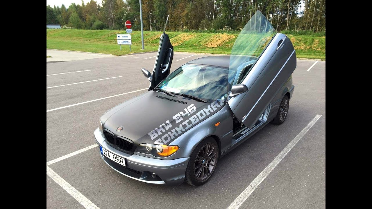 bmw e46 schmiedmann with lambo doors youtube. Black Bedroom Furniture Sets. Home Design Ideas