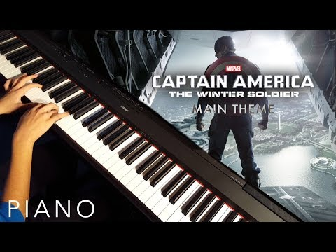 Captain America The Winter Soldier - Main Theme (Piano Cover)