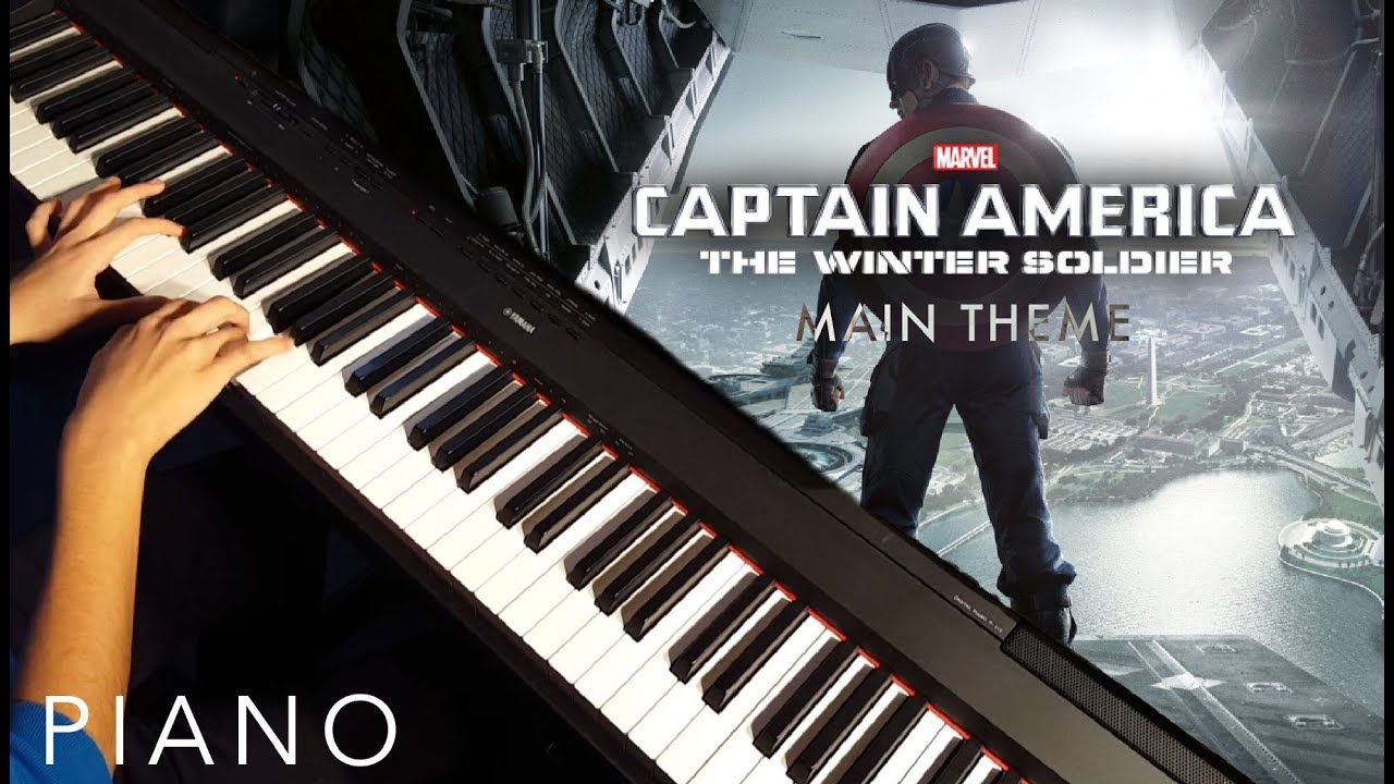 captain america the winter soldier main theme piano cover youtube. Black Bedroom Furniture Sets. Home Design Ideas