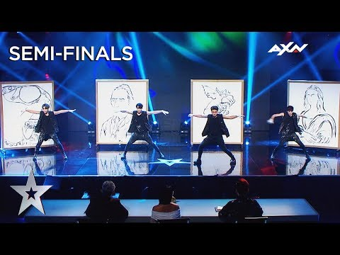 The Painters (Korea) Semi-Final 2 - VOTING CLOSED   Asia's Got Talent 2019 On AXN Asia